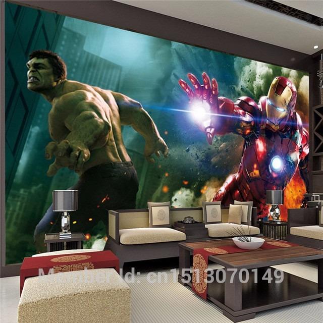 Papel D Parede Heroi Hulk Homem De Ferro Homem Aranha