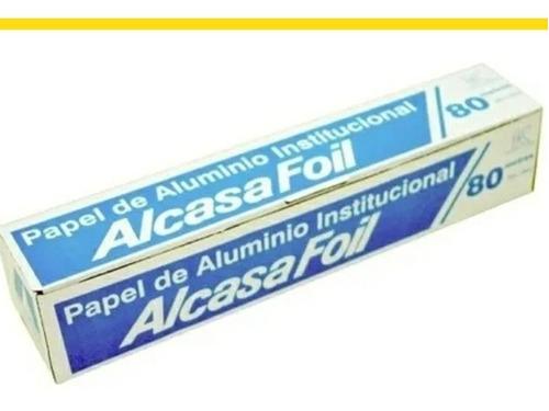 papel de aluminio 80 mtrs