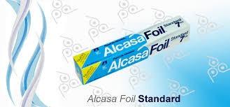 papel de aluminio alcasa foil standart 7 metros