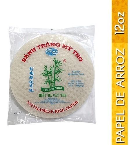 papel de arroz 12oz / 340g