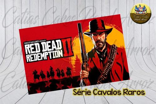 papel de arroz cavalos raros morgan red dead redemption 2