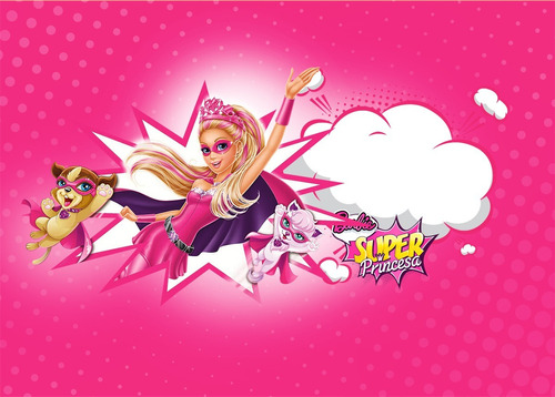papel de arroz tema barbie - personalizado.topper