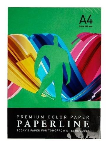papel  de color  a4 x 500 hojas