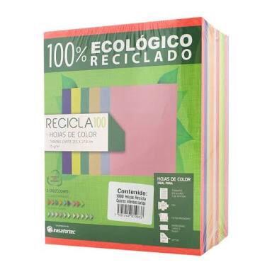 papel de color intenso tamaño carta 1000 hojas
