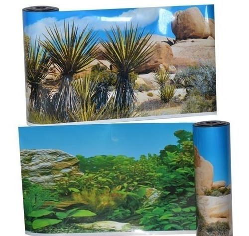 papel de fondo decorativo para acuarios y peceras por metro