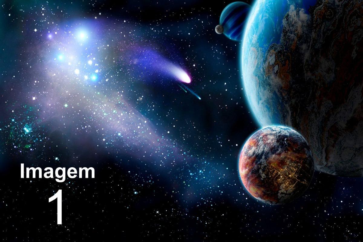 Papel De Parede 1 Adesivo Universo Espa O Terra 11m 2 8 X 4 R  -> Imagens Do Universo Para Papel De Parede
