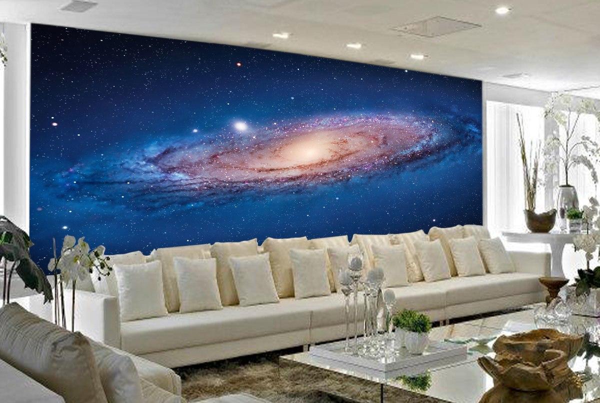 Papel De Parede 3d Estrelas Espaço Galáxia Céu