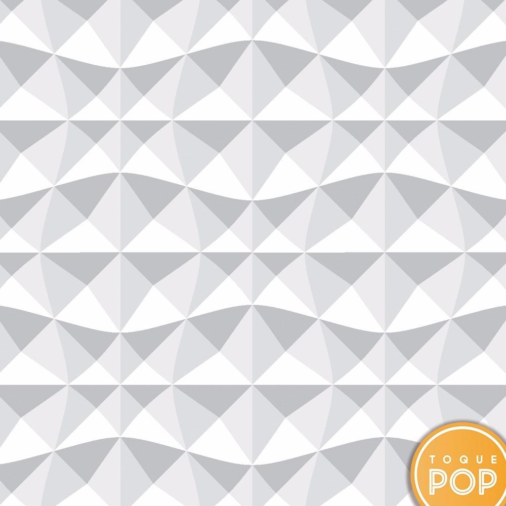 Papel de parede 3d gesso textura autoadesivo lav vel 10m for Papel para paredes catalogo