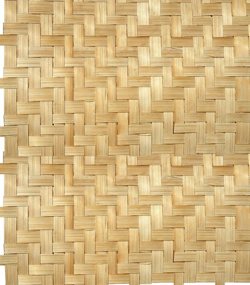 Papel de parede 3d tacos de madeira palha vin lico r - Papel vinilico para paredes ...