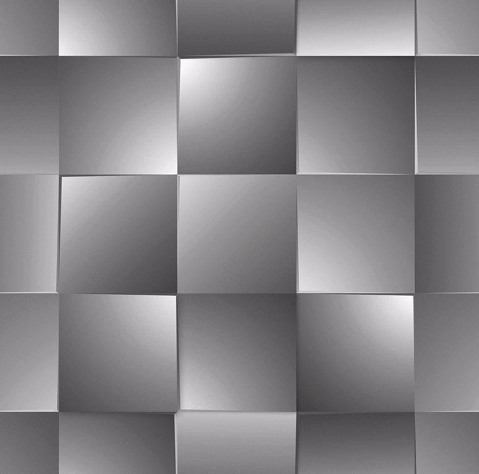 Papel de parede 3d vin lico tons cinza bobinex dim 4717 - Papel vinilico para paredes ...