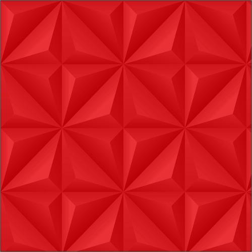 papel de parede ades. 3d efeito gesso vermelho sala 3d01ve