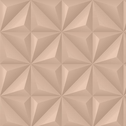 papel de parede adesivo 3d efeito gesso nude 3,05 metros