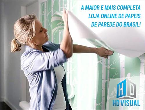 papel de parede adesivo 3d tijolo branco premium sala quarto