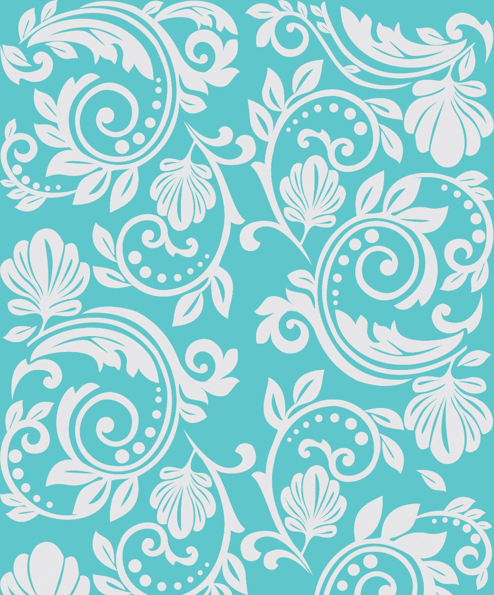 Papel De Parede Adesivo Azul Tiffany Damask Branco Vin Lico R  ~ Papel De Parede Azul Tiffany Quarto