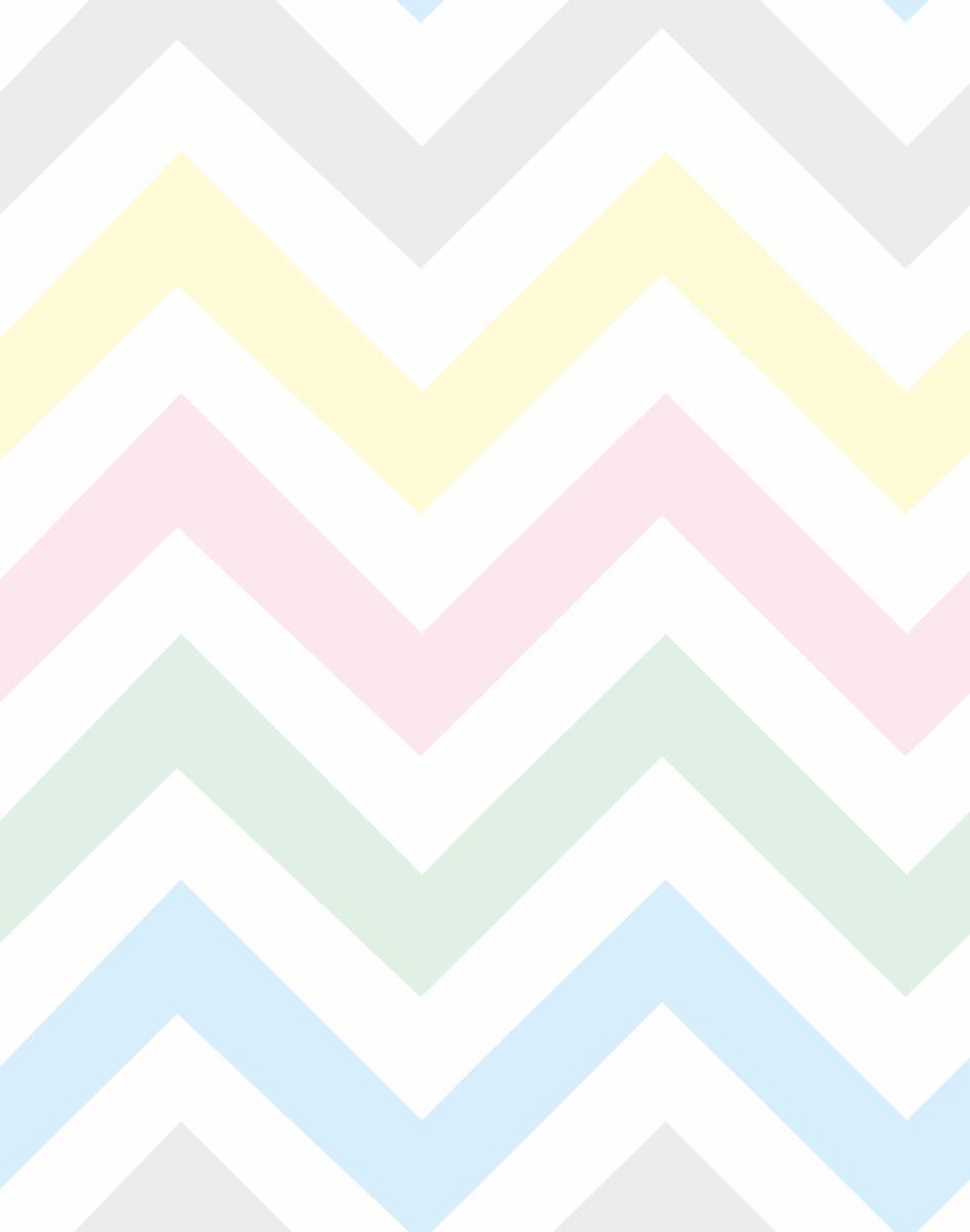 fa407e925 papel de parede adesivo chevron candy color. Carregando zoom.