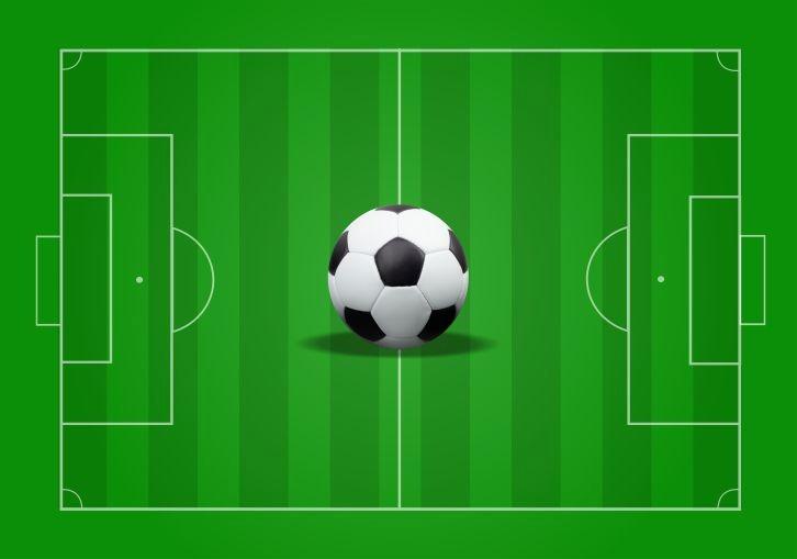 dd3942909a Papel De Parede Adesivo Futebol Jogo Campo Bola Gol Gg137 - R  279 ...