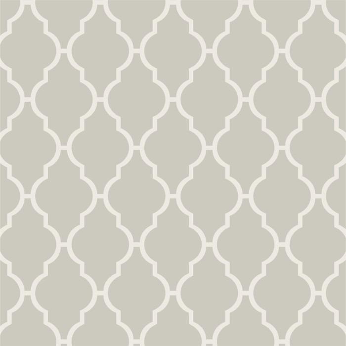 Papel de parede adesivo geom trico cinza branco - Papel vinilico para paredes ...
