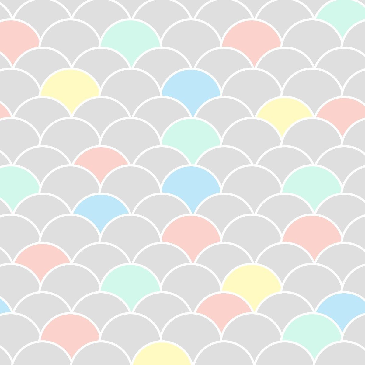 4819ae408 papel de parede adesivo geométrico escamas cinza candy color. Carregando  zoom.
