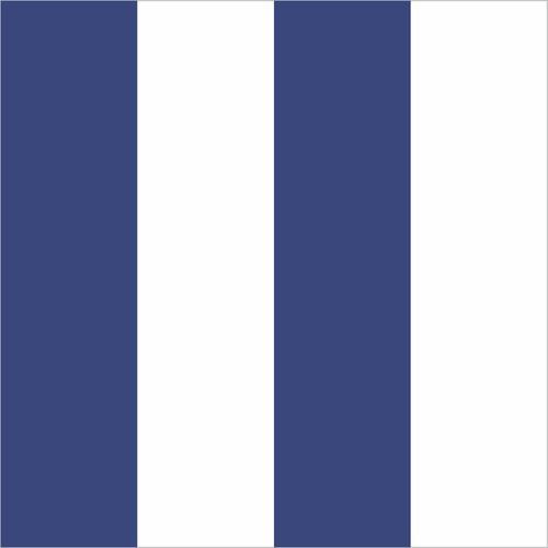 papel de parede adesivo listrado azul e branco 9,60m x 58cm