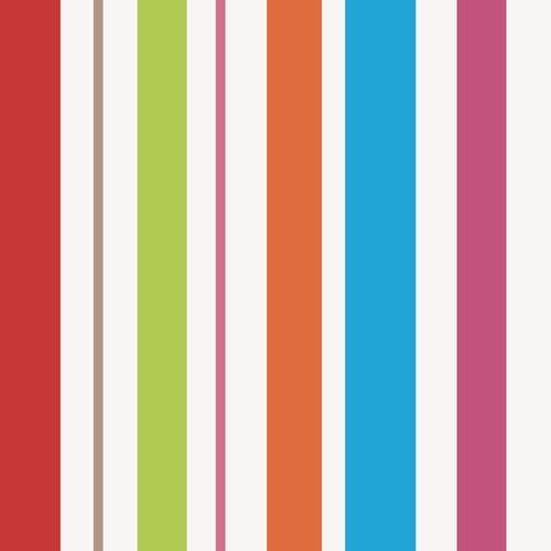 papel de parede adesivo listrado colorido 9,60m x 58cm