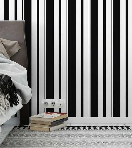 papel de parede adesivo listrado melhor preço só r$ 68,00