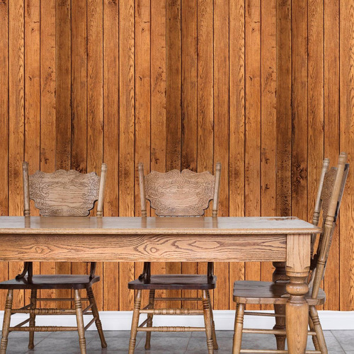 papel de parede adesivo madeira demolição md-40 - 40 unids.