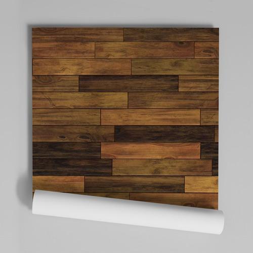 papel de parede adesivo madeira textura md-03 - 30 unidades