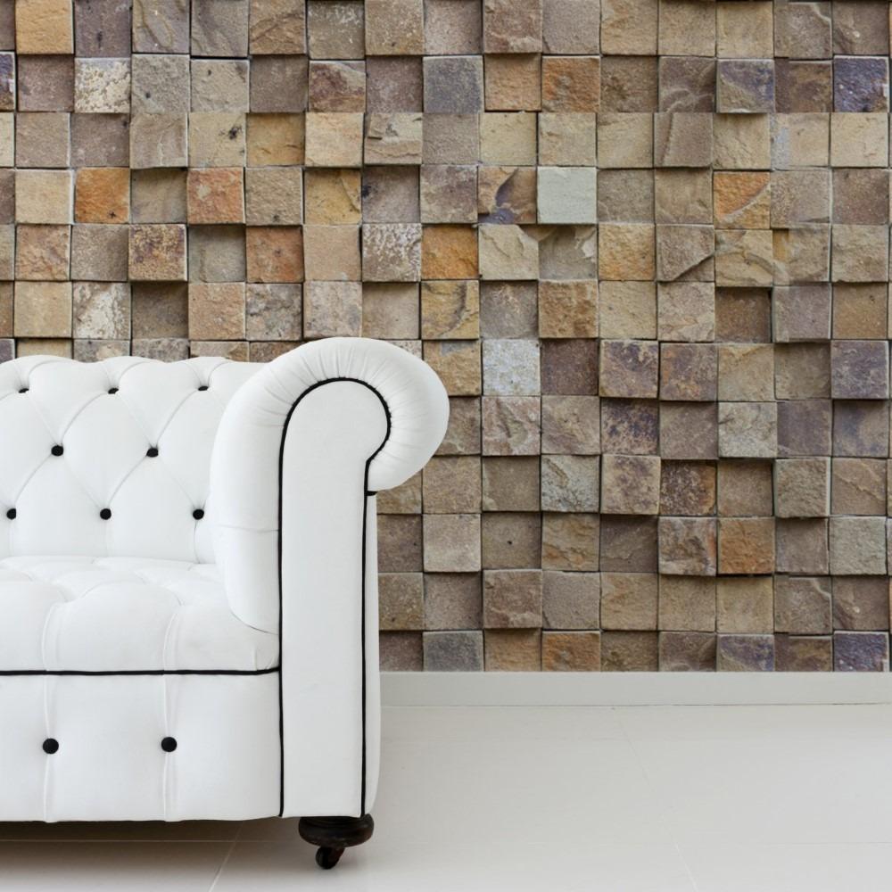 0b827d8c5 papel de parede adesivo pedra canjiquinha quadrada sala. Carregando zoom.