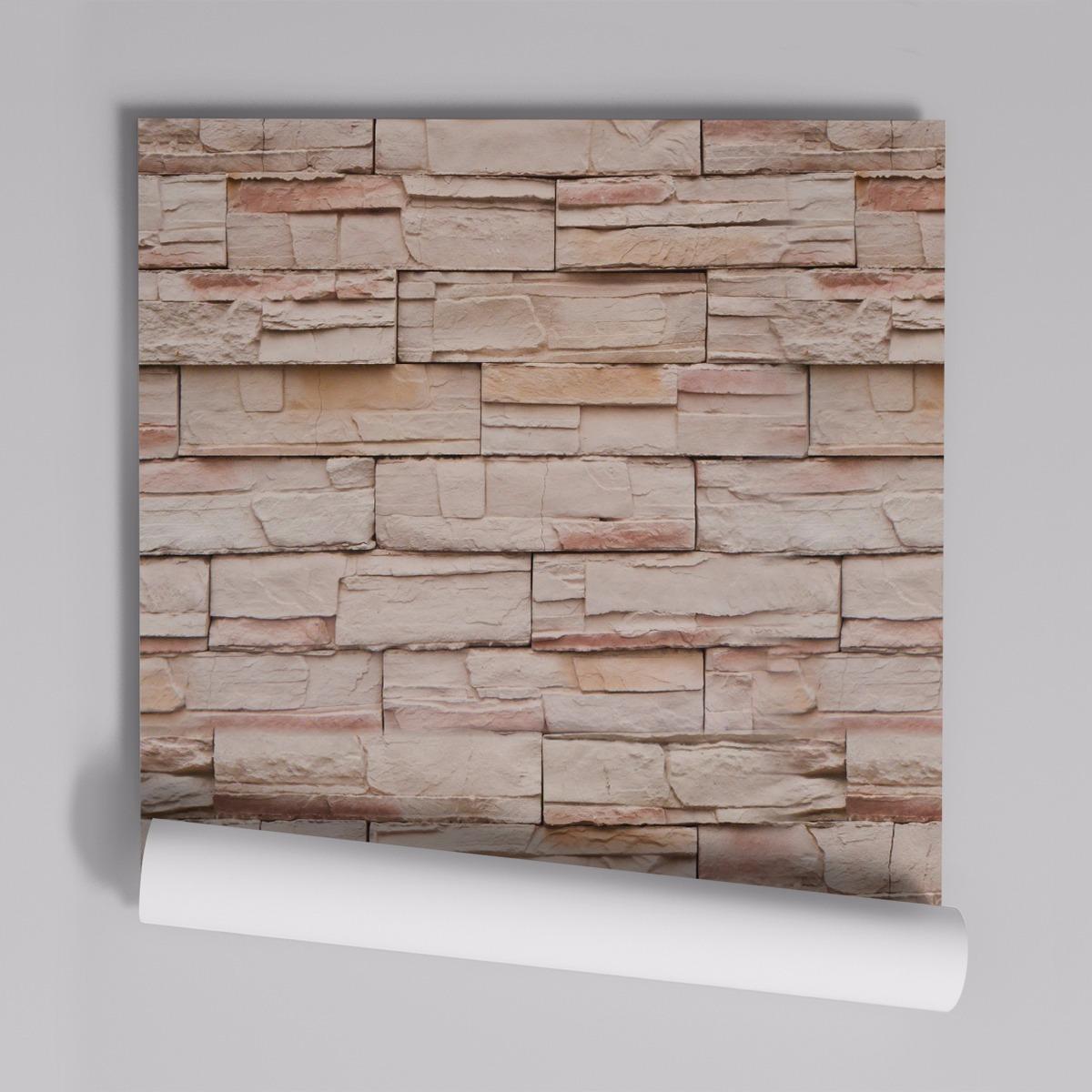 ffd137fca papel de parede adesivo pedras canjiquinha pr-04 - 24 unids. Carregando  zoom.