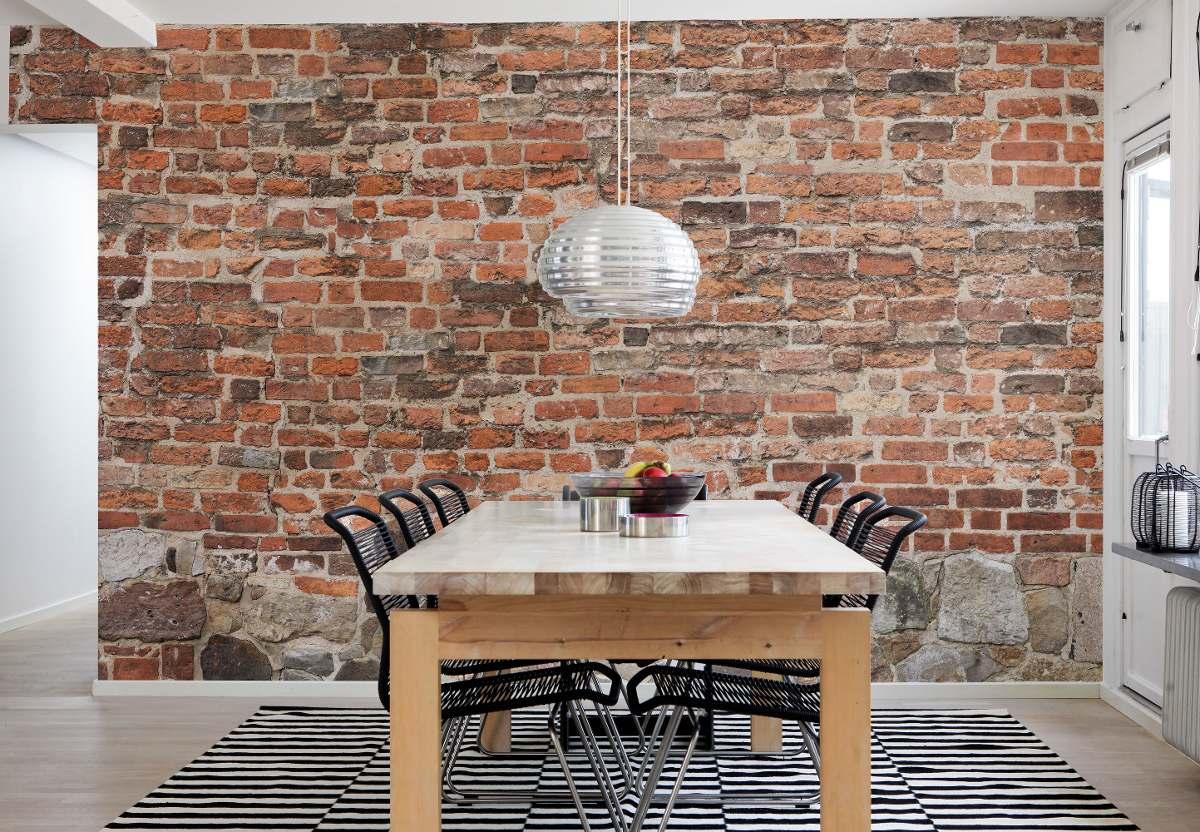 00d6547d9 papel de parede adesivo tijolos demolição - 5m. Carregando zoom.