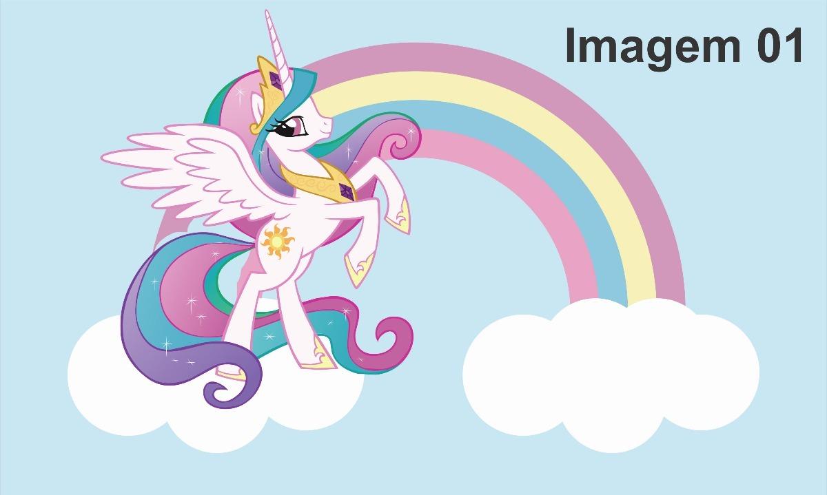 Adesivo De Parede Arvore Infantil ~ Papel De Parede Adesivo Unicornio Unicórnios 11m u00b2 2,8 X 4,0 R$ 350,00 em Mercado Livre