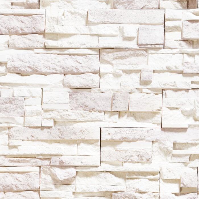 Papel de parede adesivo vinilico imita pedra branca - Papel vinilico para paredes ...