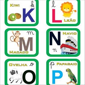 Alfabeto Montessori Ferramentas E Construcao No Mercado Livre Brasil