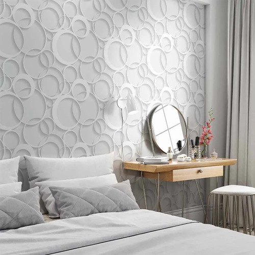 papel de parede auto adesivo decorativo 3d pergolado