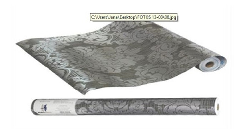 papel de parede auto adesivo decorativo roma 10 metros