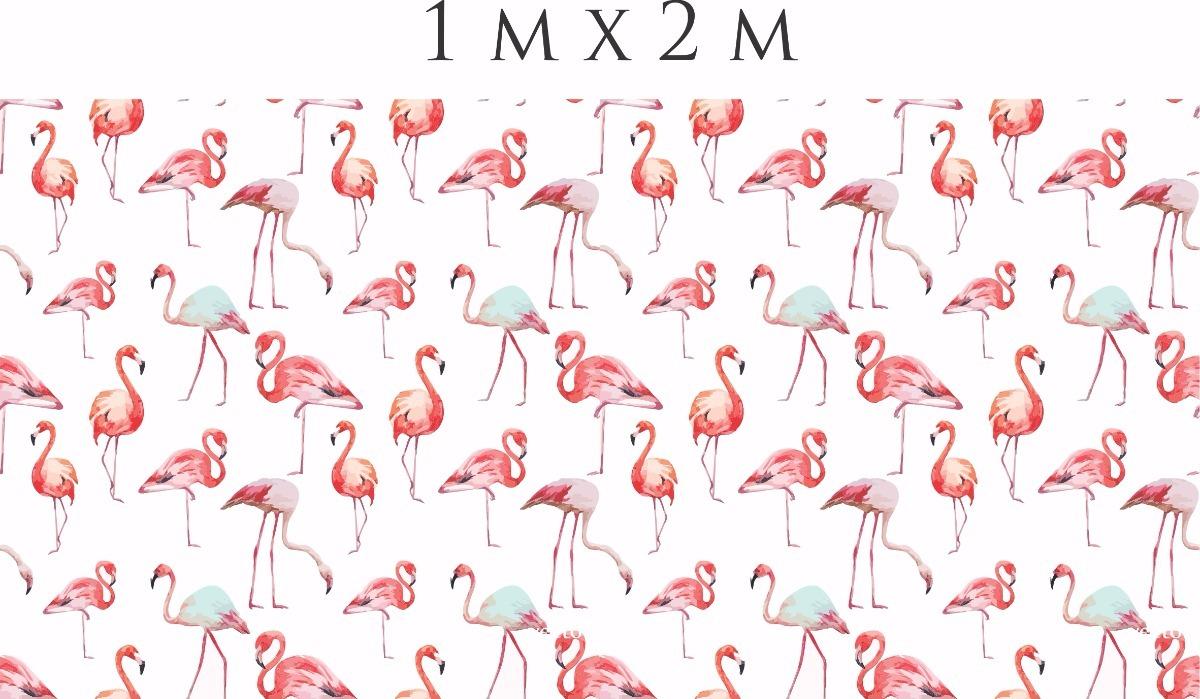 Adesivo Idoso Detran Mg ~ Papel De Parede Auto Adesivo Flamingo Tropical Summer 2m u00b2 R$ 129,99 em Mercado Livre