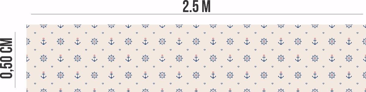 4fb2d85be papel de parede auto adesivo marinheiro âncora barco timão. Carregando zoom.