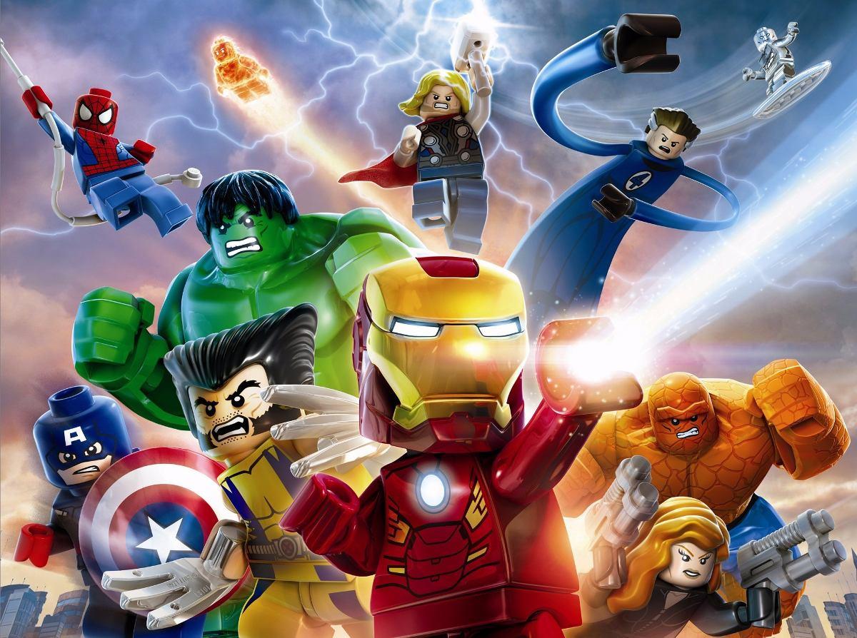 Lego Vingadores Wallpaper