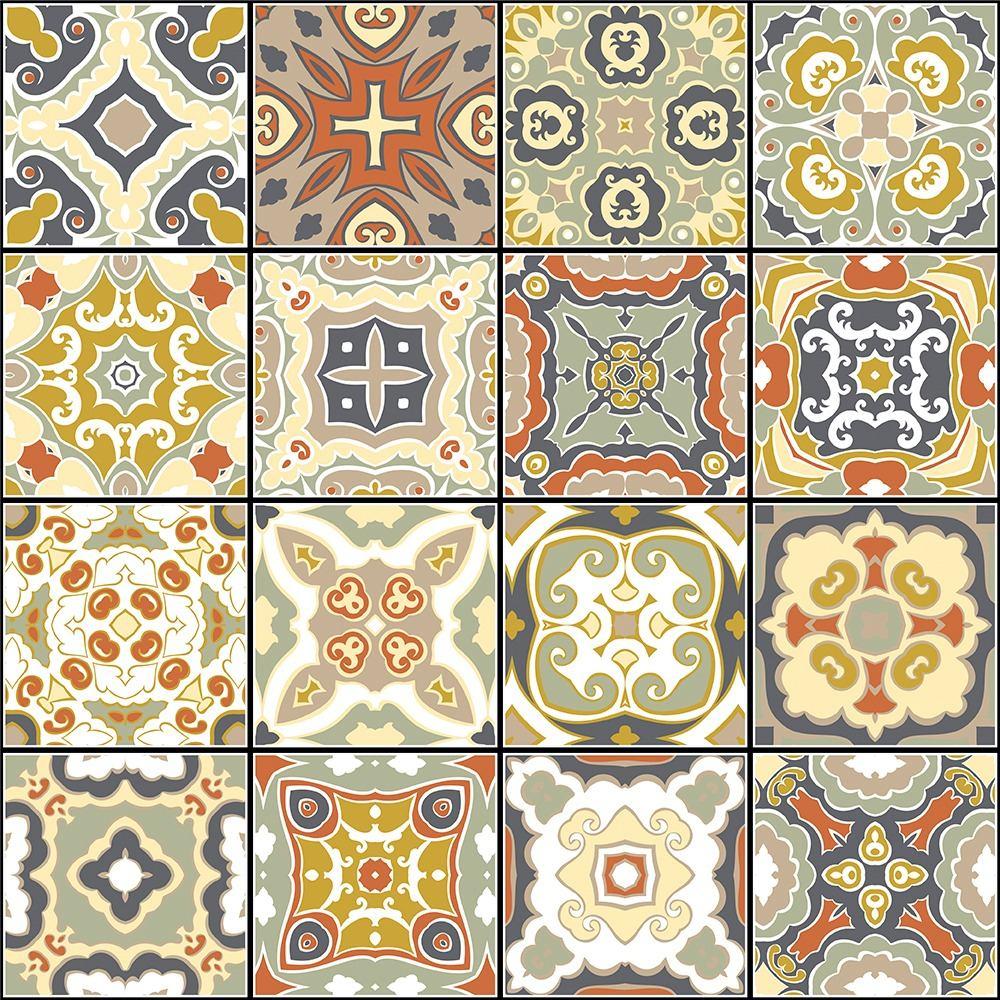 4fa893f31 Papel De Parede Azulejo Português Ladrilho Hidráulico 1