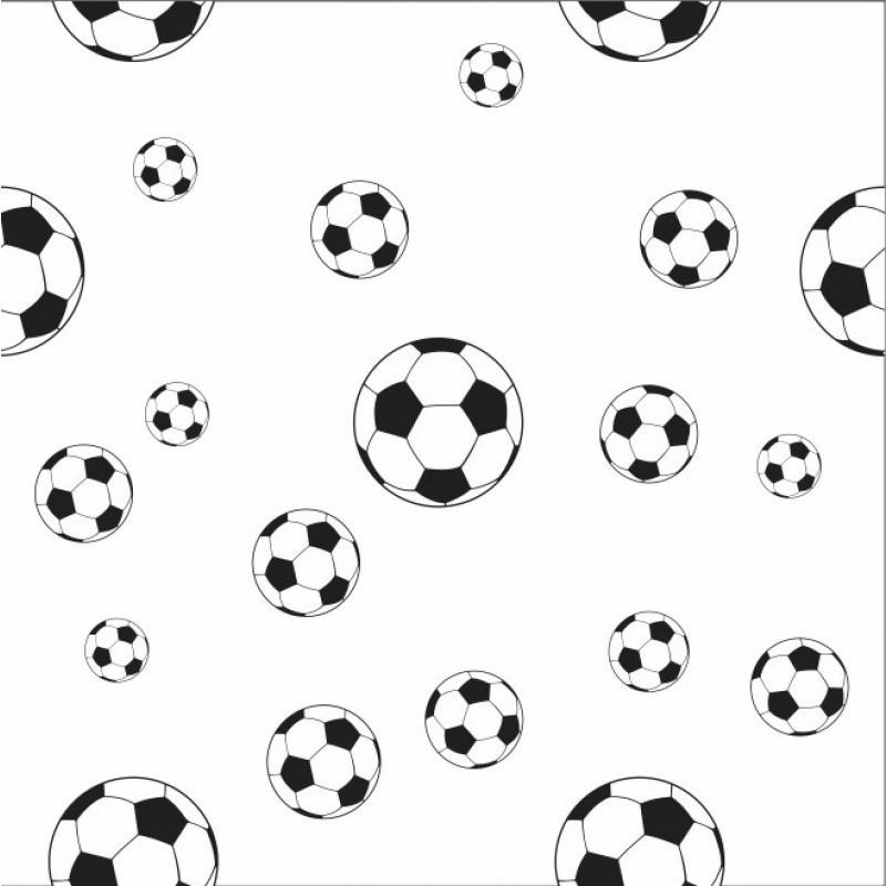 Papel De Parede Bola Futebol Menino Auto Adesivo Kit 3 Rolos - R  199 ee7daab970faf