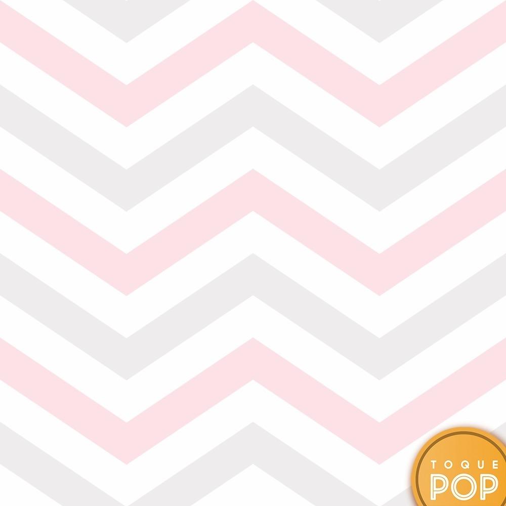 3a40a6e47 papel de parede chevron listra rosa tons bebê claro 10mts. Carregando zoom.