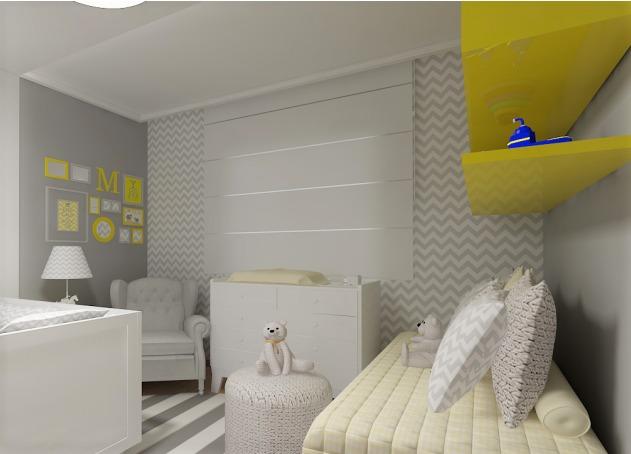 Papel de parede chevron quarto bebe menino menina neutro r 47 79 em mercado livre - Papel vinilico para paredes ...