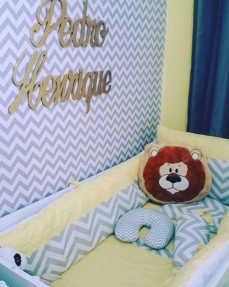 Papel de parede chevron quarto bebe menino menina neutro for Papel decomural infantil