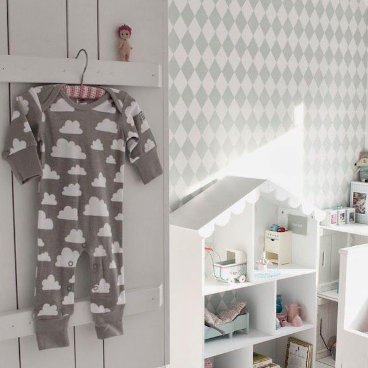 Papel de parede cinza adesivo vin lico infantil beb menino r 47 90 em mercado livre - Papel vinilico para paredes ...