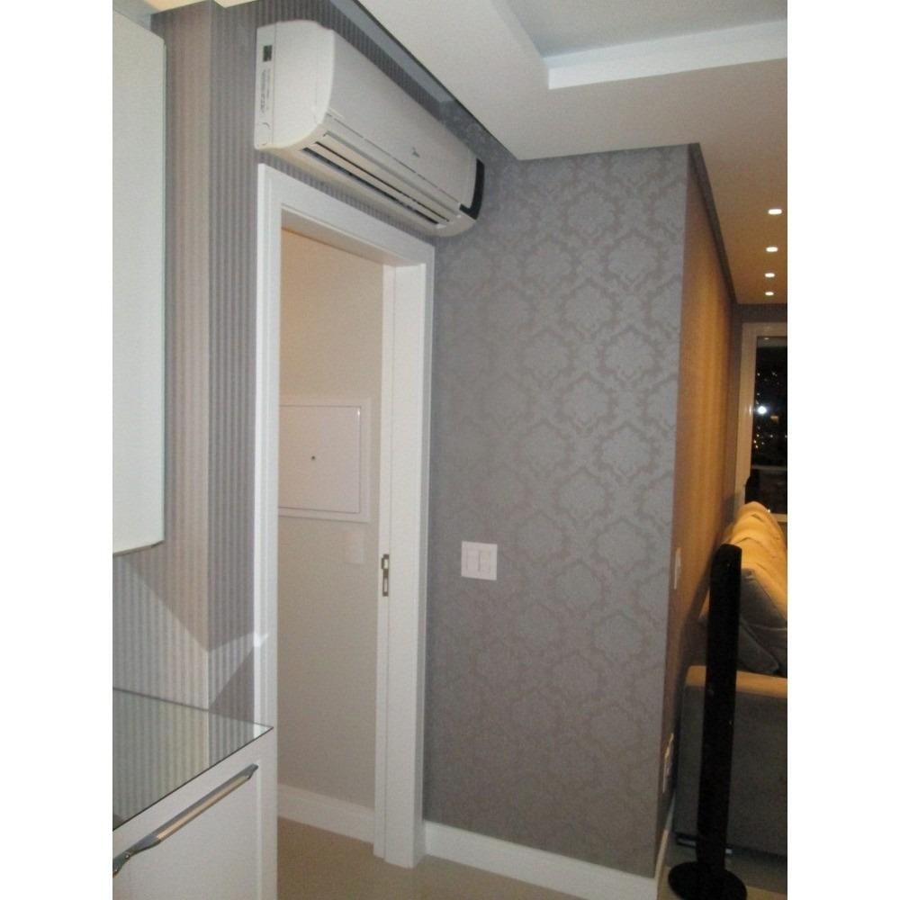Papel de parede cinza arabesco prata vinilico texturizado - Papel vinilico para paredes ...