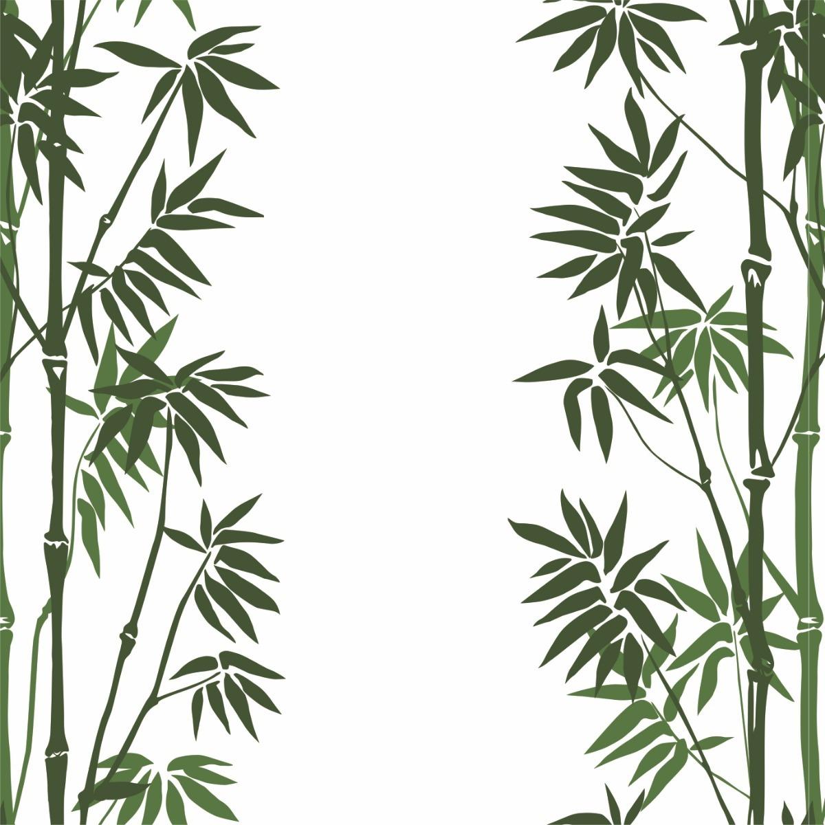 Papel De Parede Contact Sala Folhas Bamboo Bambu 3 Mts R 39 90 Em  -> Papel De Parede Para Sala Folhas