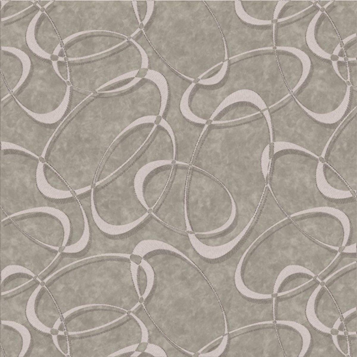 papel de parede corium moderno circular cinza e chumbo r