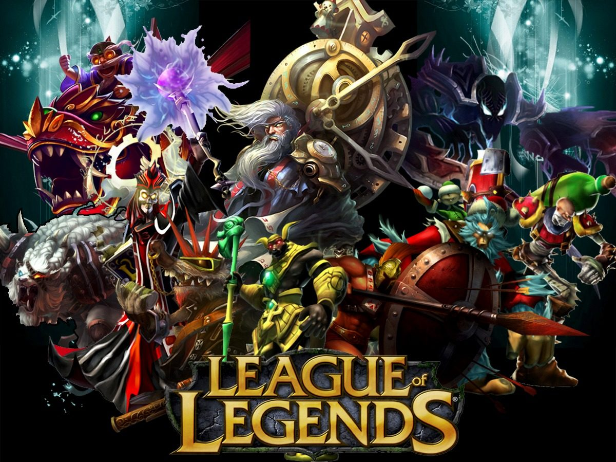 Papel De Parede Decoração Game League Of Legends Painel
