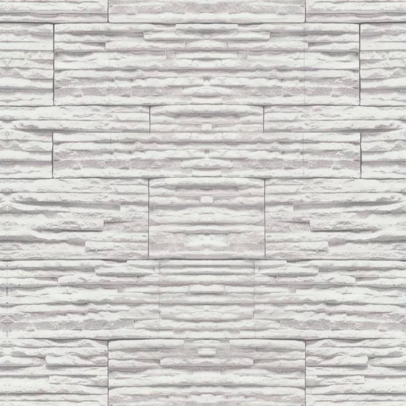 9853fc6dd papel de parede em 3d pedras canjiquinha branco mod.67. Carregando zoom.