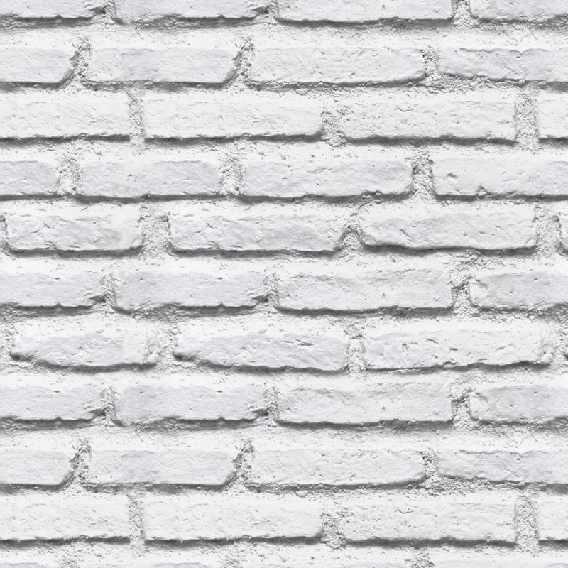 Papel de parede em 3d tijolos branco antigo vintage - Papel pared 3d ...